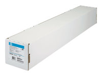 HP Bright White Inkjet Paper - papper - 1 rulle (rullar) - Rulle A1 (61,0 cm x 45,7 m) - 90 g/m² C6035A