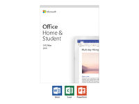 Microsoft Office Home and Student 2019 - boxpaket - 1 PC/Mac 79G-05033