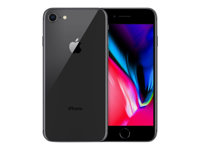 Apple iPhone 8 - rymdgrå - 4G - 256 GB - GSM - smartphone MQ7C2QN/A