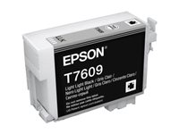Epson T7609 - light light black - original - bläckpatron C13T76094010